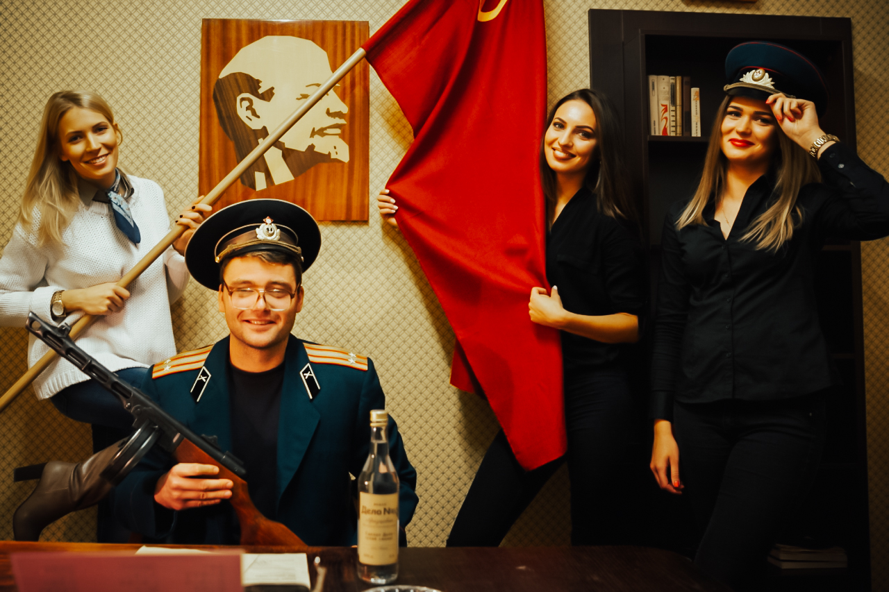 USSR + DINNER PARTY